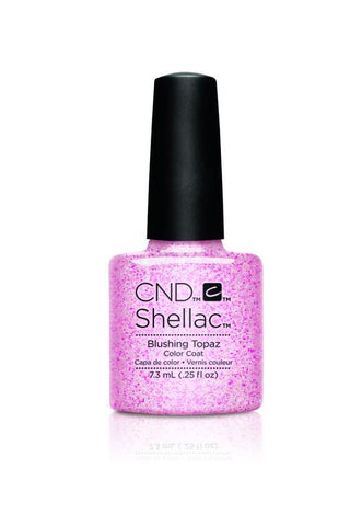 CND - Shellac Blushing Topaz (0.25 oz)