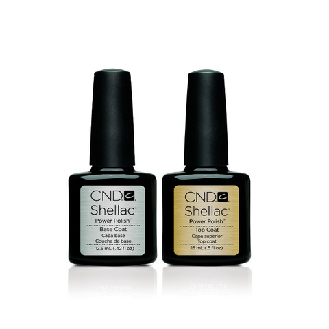 CND Shellac - Base & Top Coat (0.50 oz)