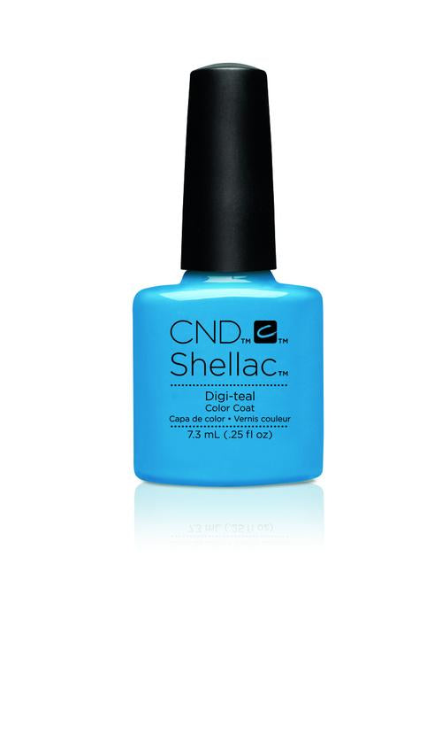 CND - Shellac Digi Teal (0.25 oz)