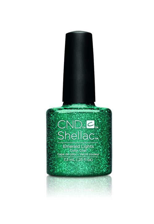 CND - Shellac Emerald Lights (0.25 oz)