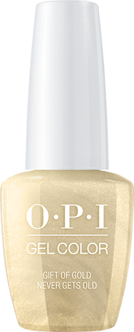 OPI GelColor - Gift of Gold Never Gets Old 0.5 oz - #HPJ12