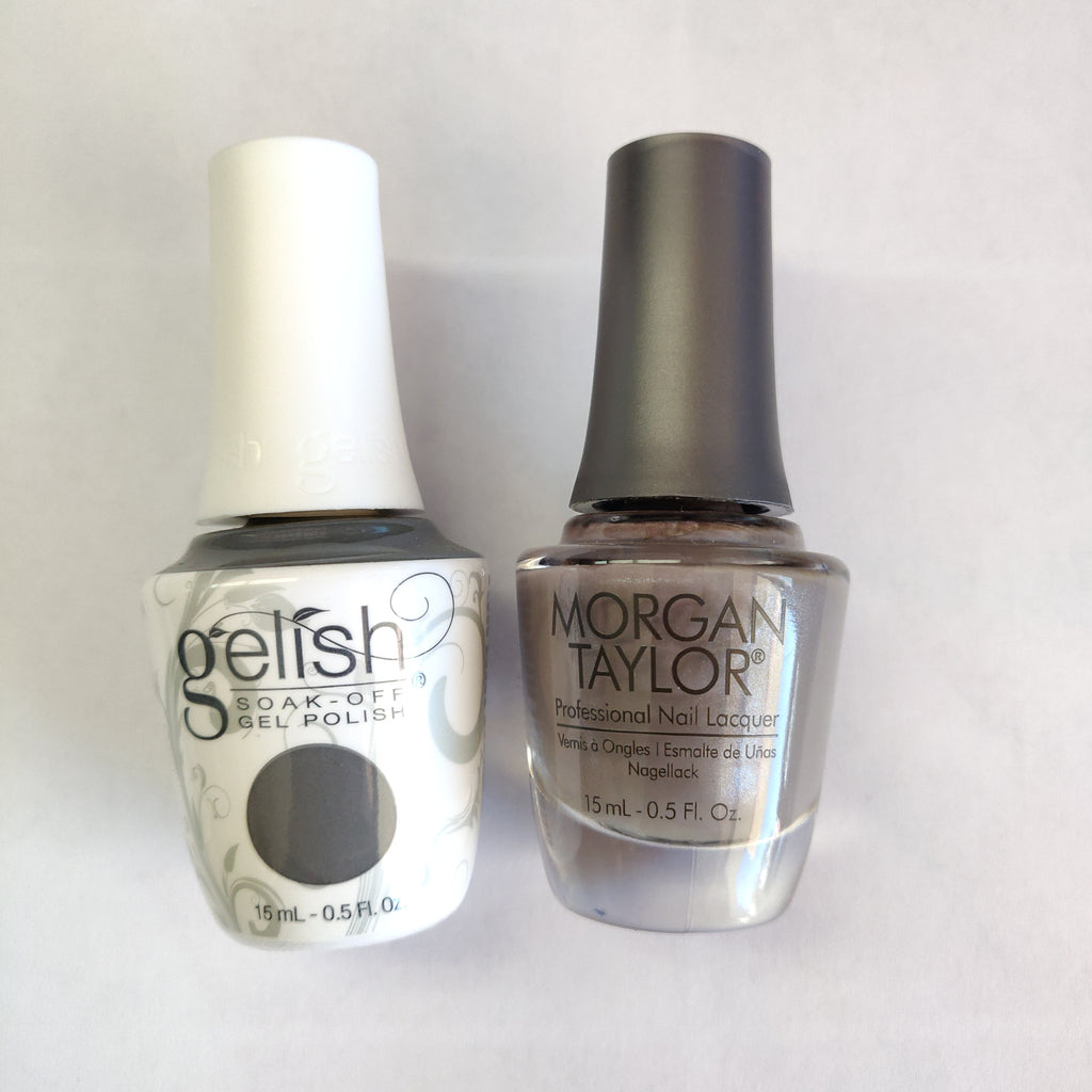 Gelish Gel Polish & Morgan Taylor Nail Lacquer, From Rodeo To Rodeo Drive, 0.5oz