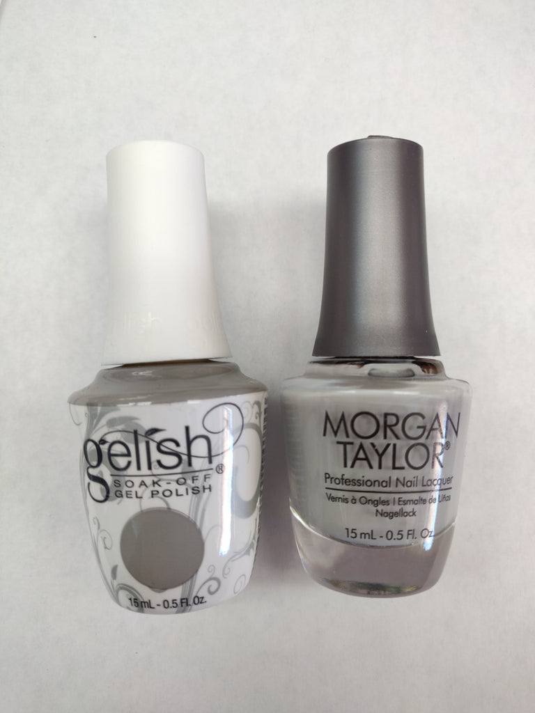Gelish Gel Polish & Morgan Taylor Nail Lacquer, Cashmere Kind Of Gal, 0.5oz