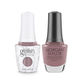 Gelish Gel Polish & Morgan Taylor Nail Lacquer, I Or-chid You Not , 0.5oz, 1110206 + 50206