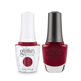 Gelish Gel Polish & Morgan Taylor Nail Lacquer, Man Of The Moment, 0.5oz, 1110032 + 50032