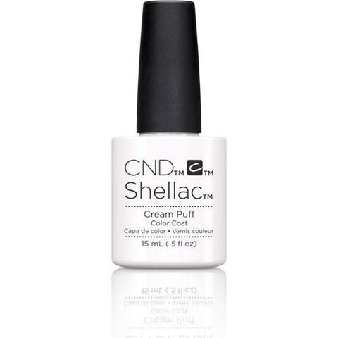 CND - Shellac Cream Puff (0.5 oz)