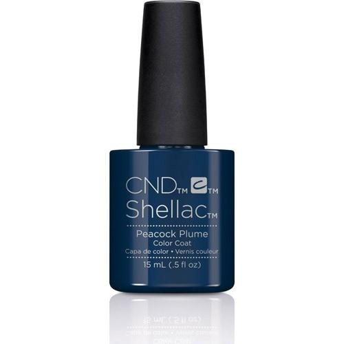 CND - Shellac Peacock Plume (0.5 oz)