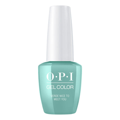 OPI Gelcolor - Verde Nice To Meet You 0.5 oz GC M84 Mexico City - Spring 2020 Collection