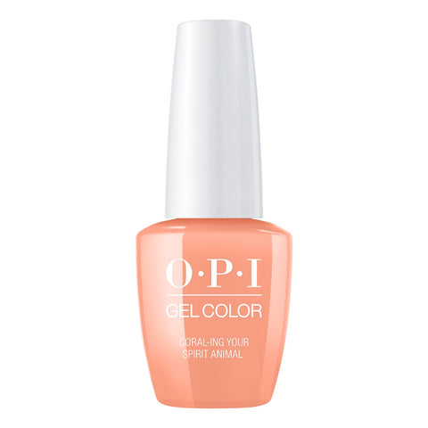 OPI Gelcolor - Coral-Ing Your Spirit Animal 0.5 oz GC M88 Mexico City - Spring 2020 Collection
