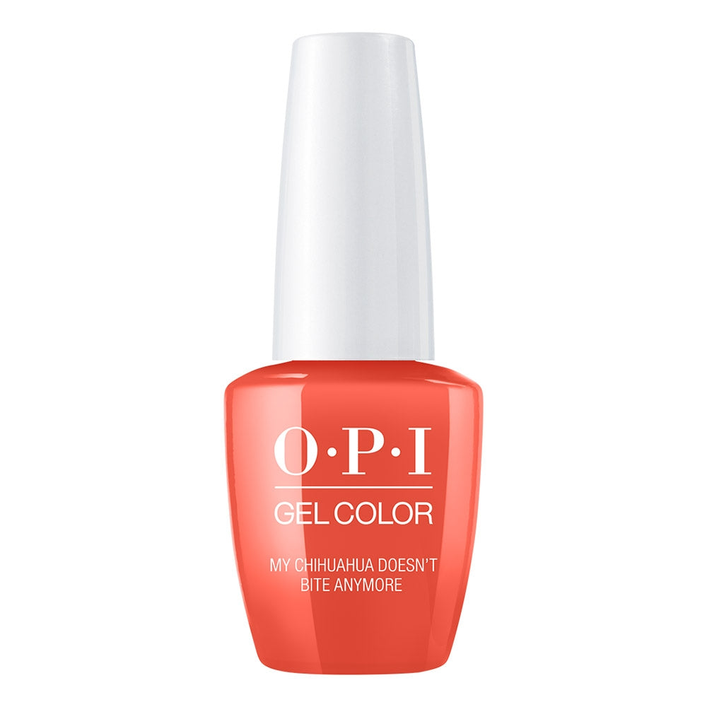 OPI Gelcolor - My Chihuahua Doesn't Bite Anymore 0.5 oz GC M89 Mexico City - Spring 2020 Collection