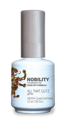 Nobility Gel Polish + Matching Lacquer All That Glitz