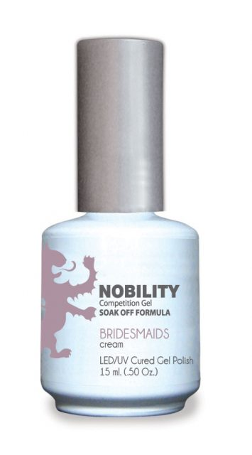 Nobility Gel Polish + Matching Lacquer Bridesmaids