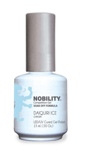 Nobility Gel Polish + Matching Lacquer Pink Punch
