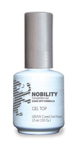 Nobility Gel Polish + Matching Lacquer Hot Green