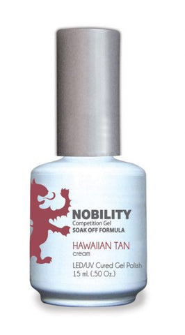 Nobility Gel Polish + Matching Lacquer Hawaiian Tan