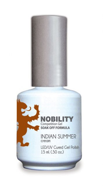 Nobility Gel Polish + Matching Lacquer White Cream