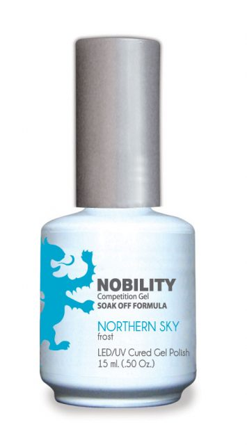 Nobility Gel Polish + Matching Lacquer Northern Sky