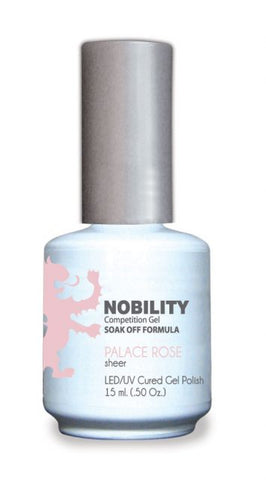 Nobility Gel Polish + Matching Lacquer Palace Rose
