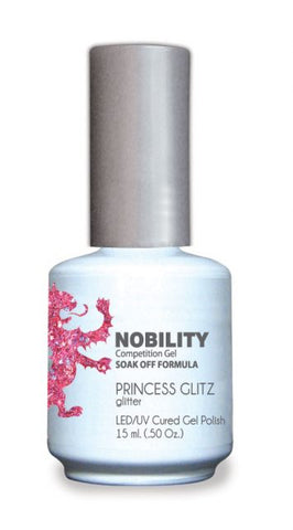 Nobility Gel Polish + Matching Lacquer Princess Glitz