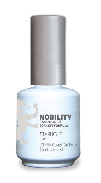 Nobility Gel Polish + Matching Lacquer Starlight