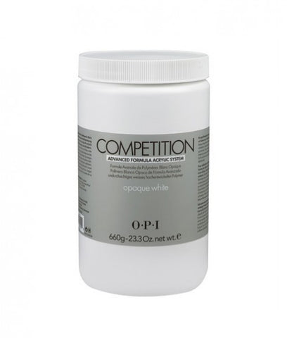 O.P.I COMPETION POWDER – Opaque White 23.3 oz