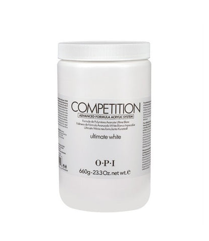 O.P.I COMPETION POWDER – Ultimate White 23.3 oz