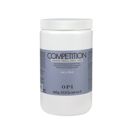 O.P.I COMPETION POWDER – Very Clear 23.3 oz