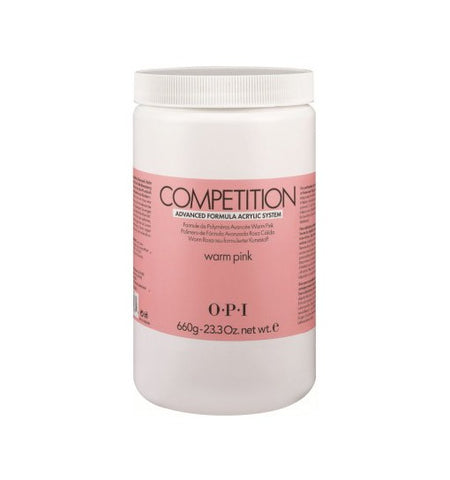 O.P.I COMPETION POWDER – Warm Pink 23.3 oz