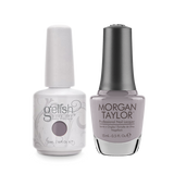 Gelish Gel Polish & Morgan Taylor Nail Lacquer, Oh, Rule The Runway , 0.5oz, 1100072+ 50231