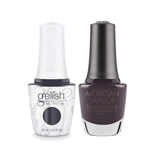 Gelish Gel Polish & Morgan Taylor Nail Lacquer, Sweater Weather , 0.5oz, 1110064 + 50064