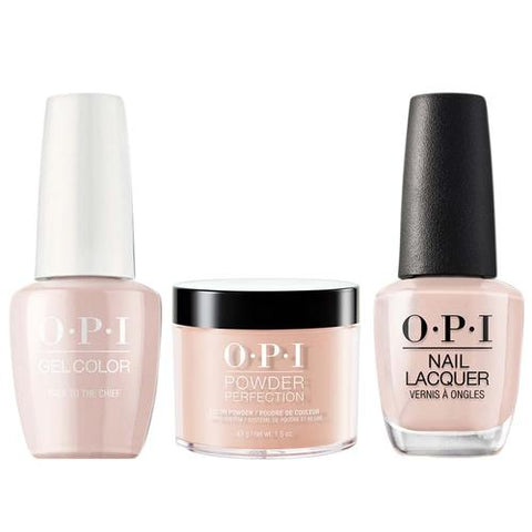 OPI 3in1, W57, Pale To The Cheif KK1017