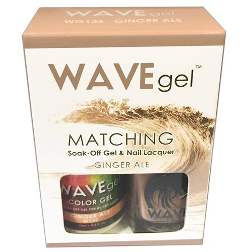Wave Gel Duo - 136 Ginger Ale