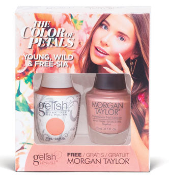 Gelish Two of a kind -Color Of Petal Collection 2019 - Young, Wild & Free-sia