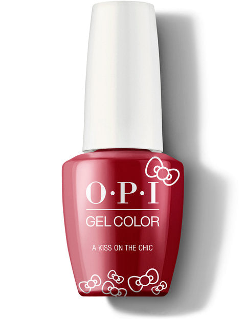 OPI x Hello Kitty 2019 Gel - A Kiss on the Chìc- HP L05