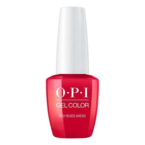 OPI GelColor - Red Heads Ahead 0.5 oz - #GCU13