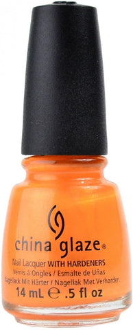 China Glaze - Orange You Hot 0.5 oz (Summer Neon 2012)