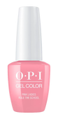 OPI GelColor  Pink Ladies Rule the School5 oz #GCG48