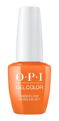 OPI GelColor  Summer Lovin' Having a Blast!5 oz #GCG43
