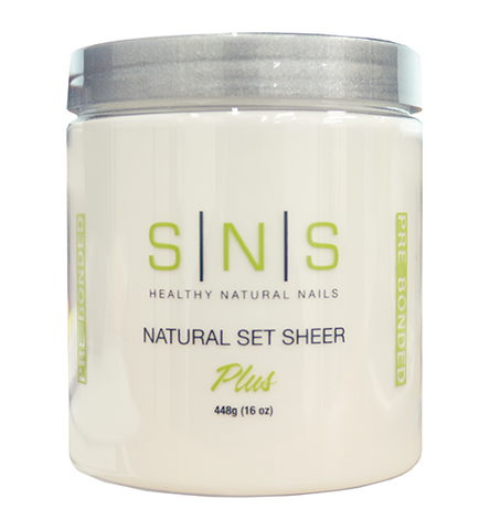 SNS Dipping Powder Natural Set Sheer 16oz