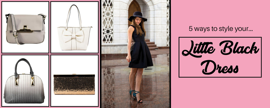 5 Ways To Style Your Little Black Dress