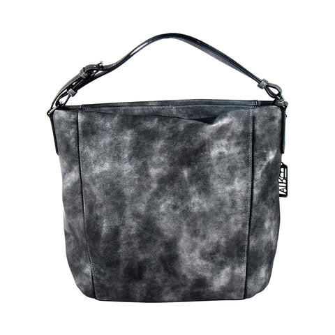 ALL BAGS - Smooth Dark Grey Hobo Bag