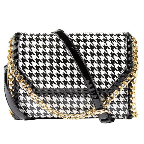 ALL BAGS - Black and White Geometric
