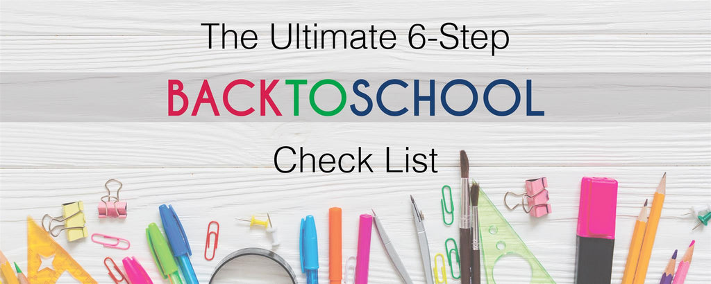 All Bags - Back to School Checklist