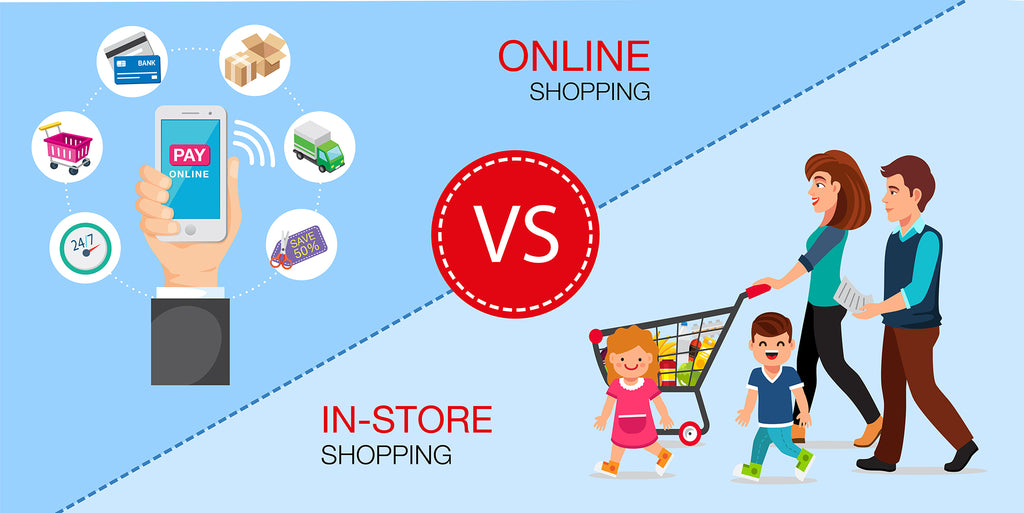 Online Store vs. Physical store - All Bags