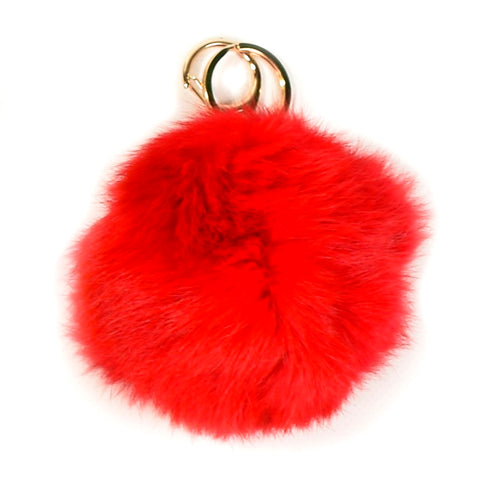 ACC-00014 - Red Pom Pom Keychain - All Bags Online