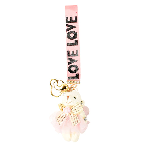 ACC-00021 - Light pink Love Keychain - All Bags Online
