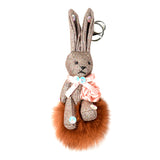 ACC-00024 - Brown Rabbit Pom Pom - All Bags Online