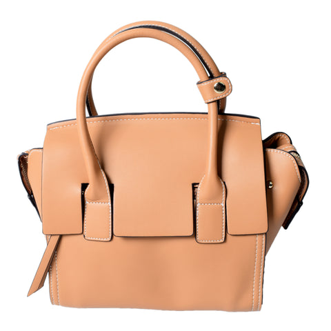 Tan Handbag - AB-H-7607 - All Bags Online