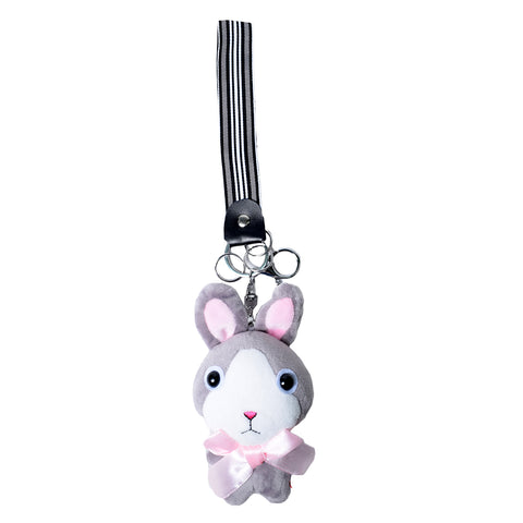ACC-5031 Grey Rabbit Keychain - All Bags Online