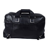 Black Genuine Leather Overnight Bag - GL-3049 - All Bags Online
